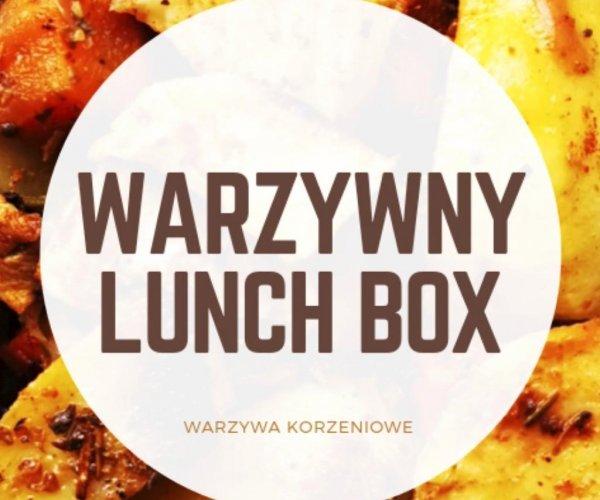 Warzywny lunch box z pieczonych warzyw
